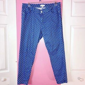 Forever21 Plus Polka Dot Jeans